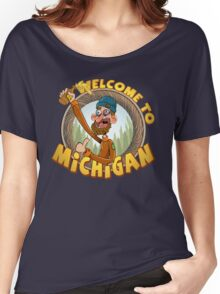 Pure Michigan Women's Relaxed Fit T-Shirt