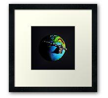 Evolution Planet Framed Print