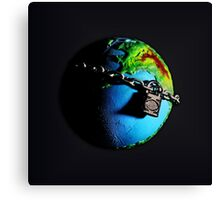 Evolution Planet Canvas Print