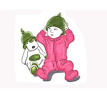 matching green hats Photographic Print