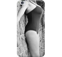 Swimsuit Against Wall iPhone Case/Skin