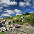 Low Tide - Cadgwith Cove, Cornwall UK by cookieshotz
