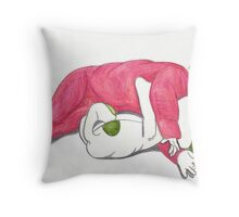 Goodnight Ruby, goodnight Oliver Throw Pillow