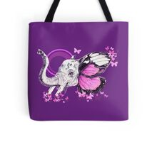 The Pink elephant (purple) Tote Bag