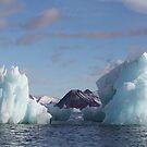 Blue Ice Peaks by John Dalkin