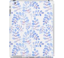 Abstract floral pattern with hand-drawn watercolor elements. iPad Case/Skin