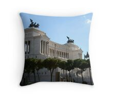 Il Vittoriano Throw Pillow