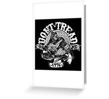 dont tread on me 1776 Greeting Card