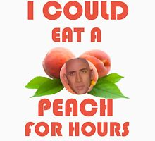 I Could Eat a Peach for Hours Unisex T-Shirt