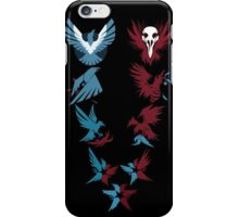 inFamous Karmic System (Black) iPhone Case/Skin