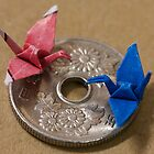 ¥50 Origami by Michelle Dewis
