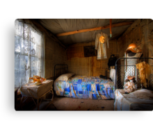 Ned Kelly Home - Kate's room Canvas Print