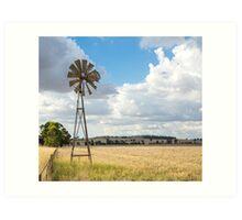 Windmill !!! Art Print