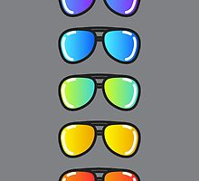 Flash Lens Sunglasses by DeniseUytiepo