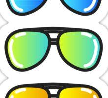 Flash Lens Sunglasses Sticker