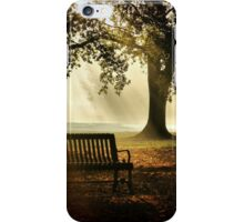 Morning in the Park iPhone Case/Skin