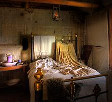 Ned Kelly Home - 2nd bedroom by Hans Kawitzki
