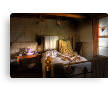 Ned Kelly Home - 2nd bedroom Canvas Print