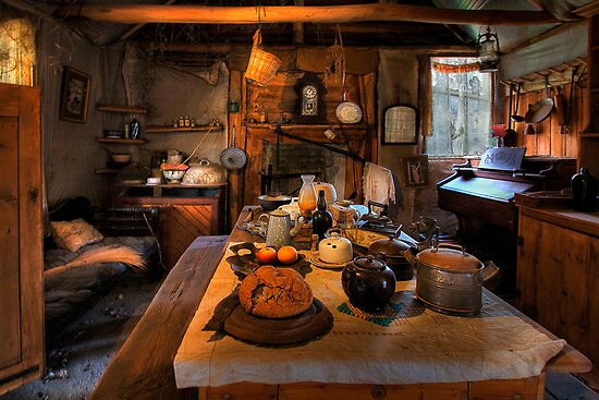 Ned Kelly Home - the kitchen by Hans Kawitzki