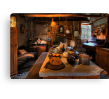 Ned Kelly Home - the kitchen Canvas Print