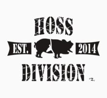 HOSS DIVISION EST. 2014 (WHITE) by pwponderings