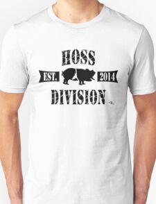 HOSS DIVISION EST. 2014 (WHITE) T-Shirt