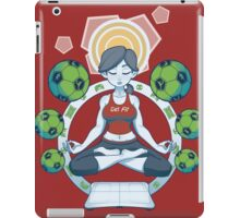 Get Fit - Red iPad Case/Skin