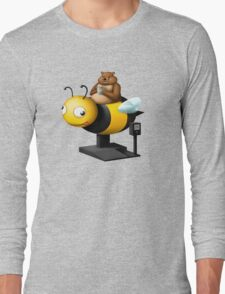 A Bear in its Free Time (Request by Brett Ojdanic) Long Sleeve T-Shirt
