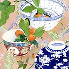 kumquats and ginger jar by Gabby Malpas
