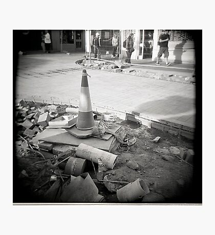 Buried Gas Photographic Print