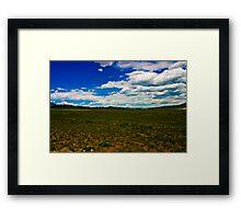 High Plains Framed Print