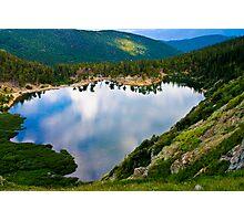 St. Mary's Glacier Lake Photographic Print