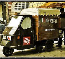 Amazing London - London People - MR COFFEE - (UK) by Daniela Cifarelli