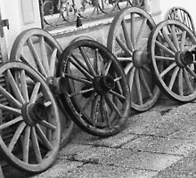 wagon wheels by anfa77