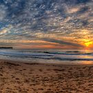 A Sky To Die For - Warriewood Beach, Sydney ( 35 Exposure HDR Panorama) - The HDR Experience by Philip Johnson
