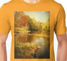 Fall Time at Rum River Unisex T-Shirt