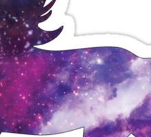 Fancy Unicorn Galaxy  Sticker