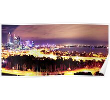 Perth City - A Jewelled City Poster
