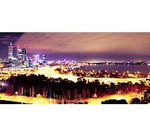 Perth City - A Jewelled City Photographic Print