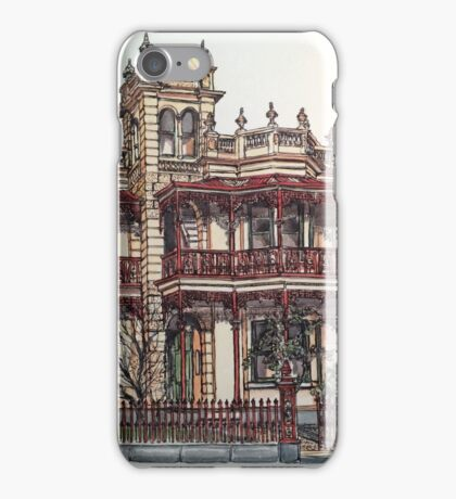 Phryne Fisher's house 'Wardlow'©.  iPhone Case/Skin