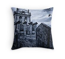 The Old Mausoleum Throw Pillow