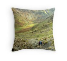 The High Stile Walk....The Ascent Throw Pillow
