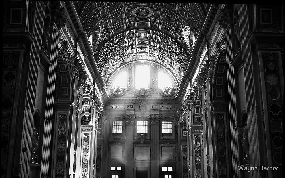 Vatican Light by Wayne Barber