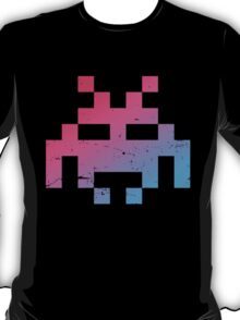Space Invader pink/blue T-Shirt