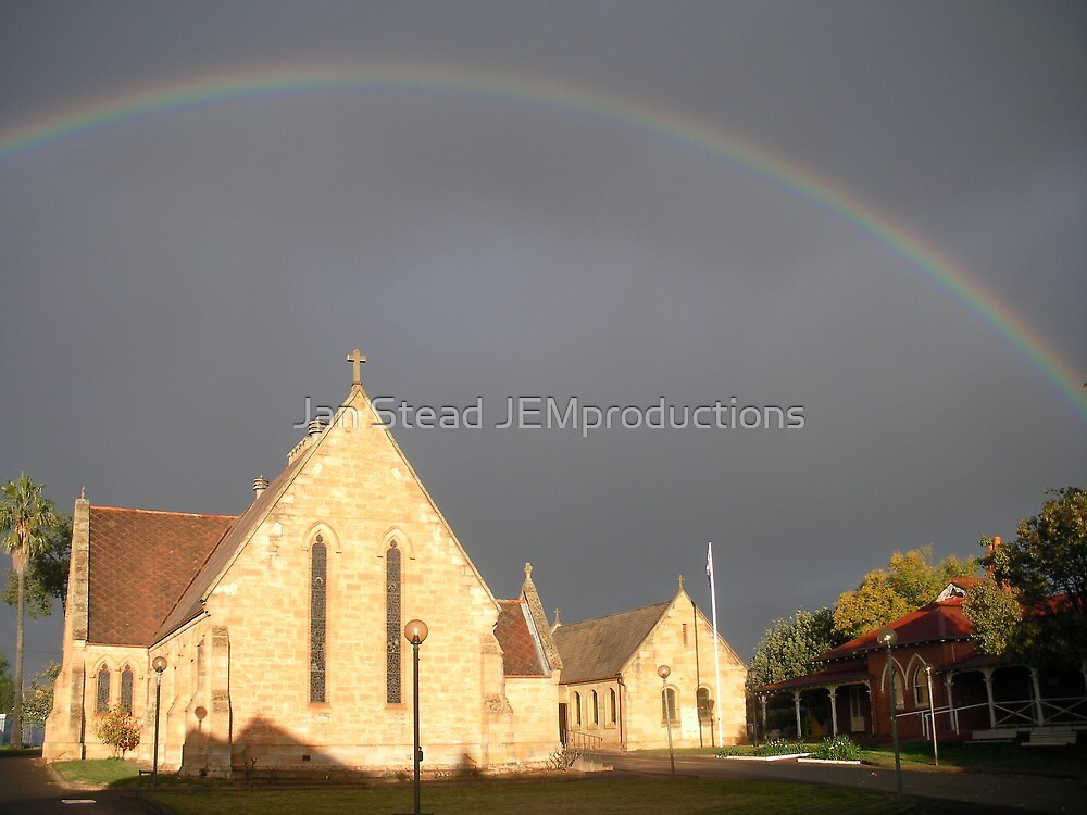 covenant sign ~ Holy Trinity Dubbo by Jan Stead JEMproductions