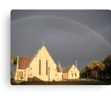 covenant sign ~ Holy Trinity Dubbo Canvas Print