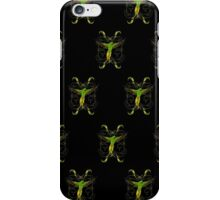 Parrot  Green (Pattern 2) iPhone Case/Skin
