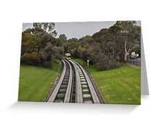 Adelaide O-Bahn Greeting Card