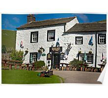 Queens Arms - Litton Poster