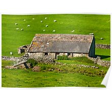 Dales Barn Poster